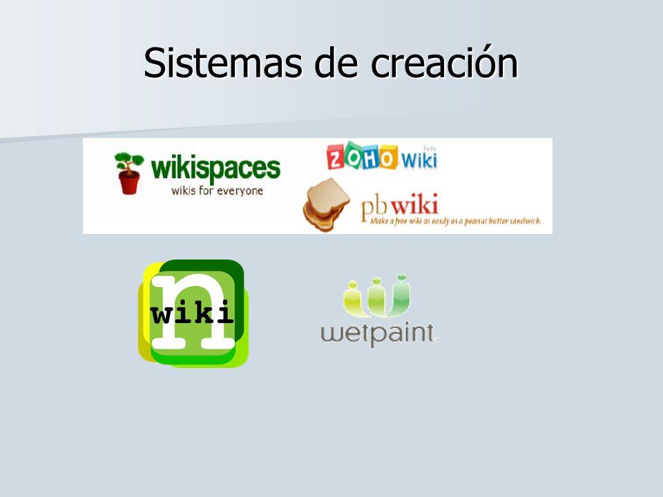 Sistemas de creación