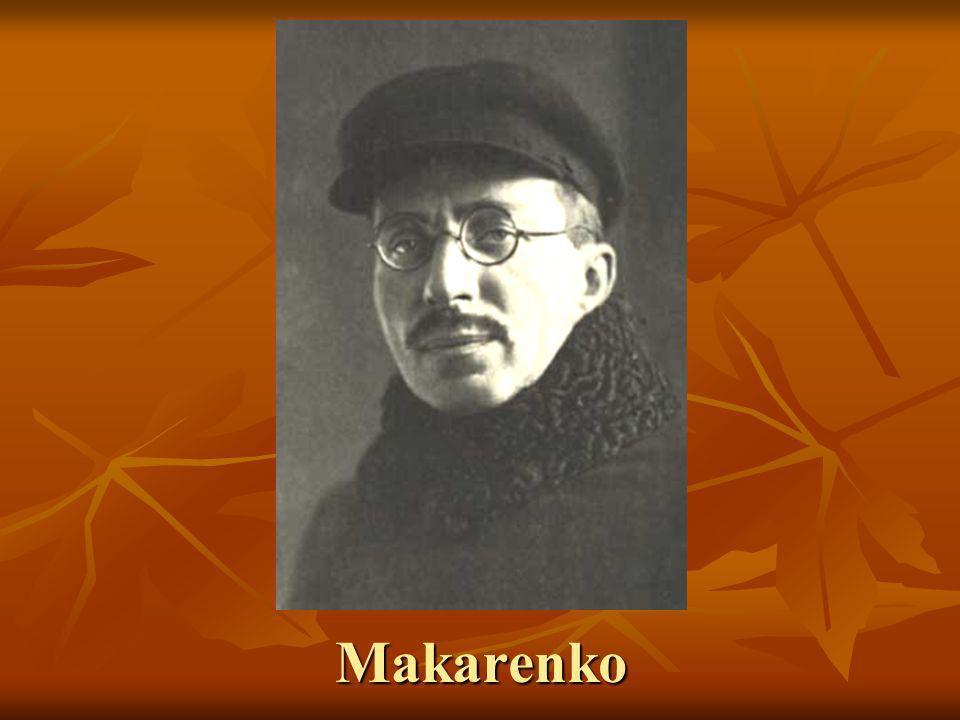 Indice 1.Vida de Makarenko 1. Vida de Makarenko 2.