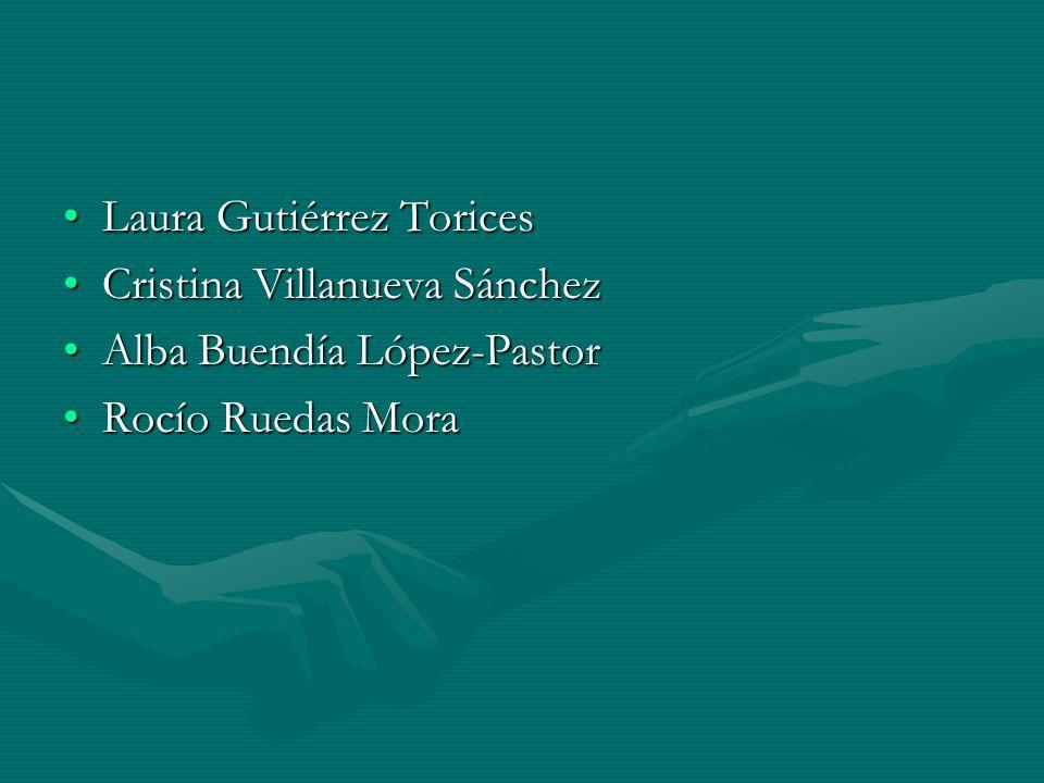 Laura Gutiérrez ToricesLaura Gutiérrez Torices Cristina Villanueva SánchezCristina Villanueva Sánchez Alba Buendía López-PastorAlba Buendía López-Past