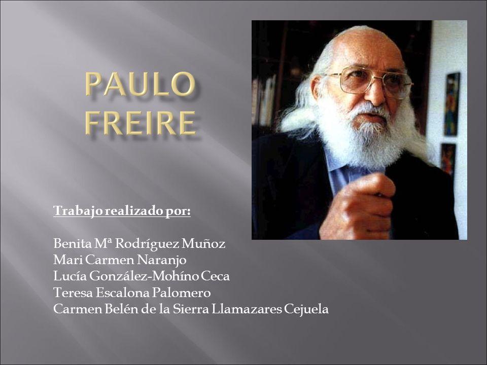 Otras características del método de Freire son: Su movilidad Capacidad de inclusión.