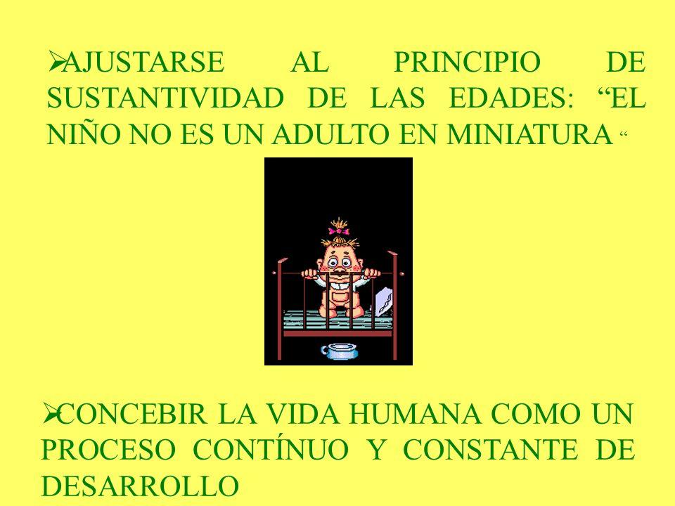DESCUBRIR Y SEGUIR LAS TENDENCIAS NATURALES DEL NIÑO…