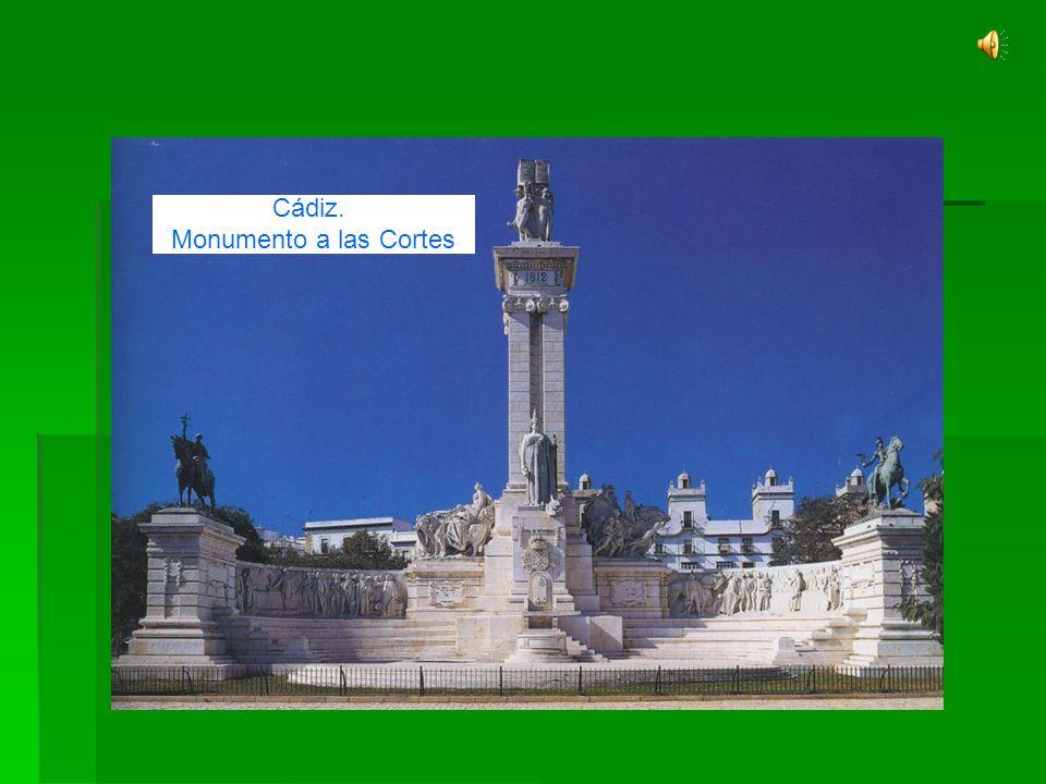 Siglo XIX INTRODUCCIÓN HISTÓRICA Cádiz. Monumento a las Cortes