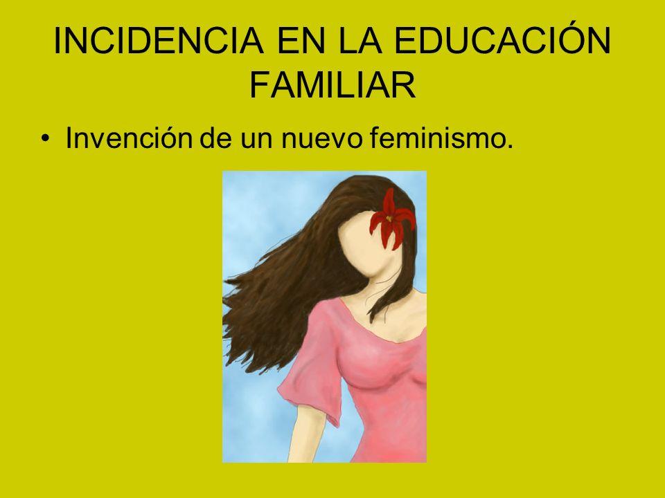 INCIDENCIA EN LA EDUCACIÓN FAMILIAR Invención de un nuevo feminismo.