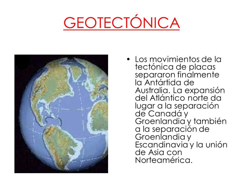 Sudamérica y Norteamérica continúan separadas por los mares ecuatoriales.