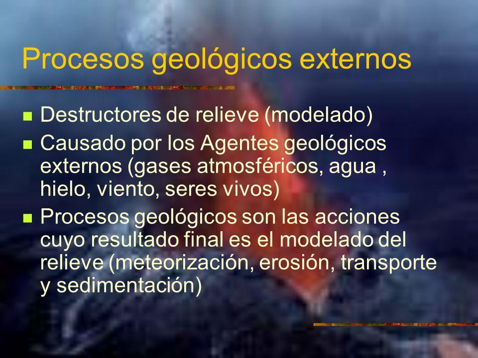 Tipos de rocas y litogénesis Rocas sedimentarias: formadas por la acumulación, compactación y cementación de sedimentos.