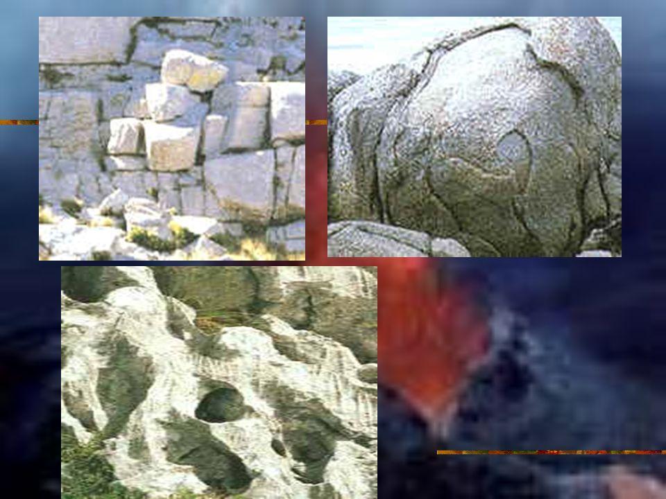 Erosión, transporte y sedimentación Proceso dinámico en el que los materiales resultantes son desplazados.