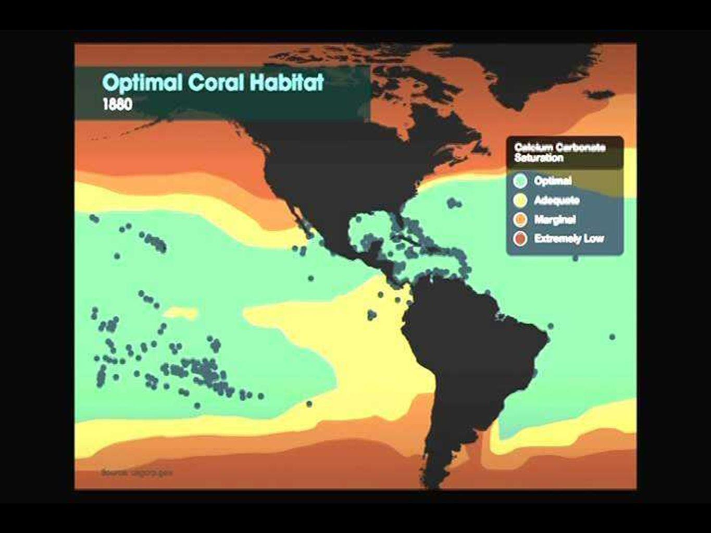 GFDL modelo simulación del Calentamiento del aire en superficie (°F) El calentamiento medio de la mitad de los continentes en el Hemisferio Norte es 15-25°F 8-14ºC.