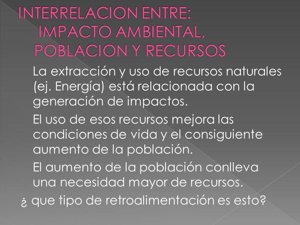 La importancia del impacto ambiental está en relación con la vulnerabilidad o fragilidad del territorio afectado. Fragilidad es la susceptibilidad que