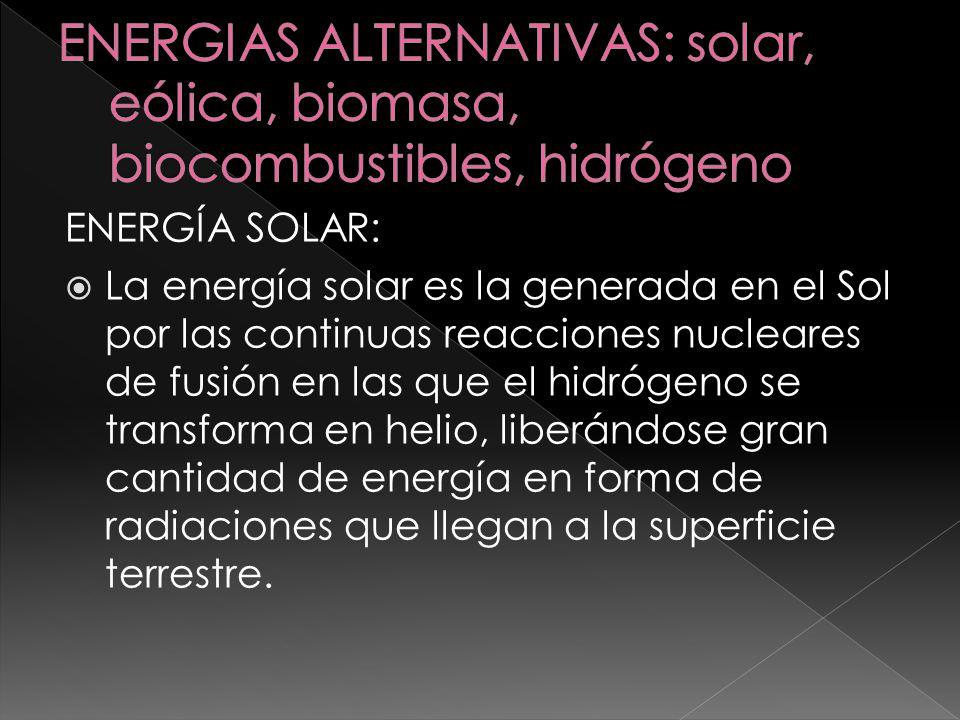 La gran ventaja de la energía solar es que no se agota, a diferencia de las energías no renovables como el carbón y el petróleo.