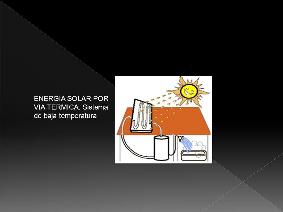 Aprovechan la energía solar a temperaturas que oscilan entre los 100 y los 300ºC