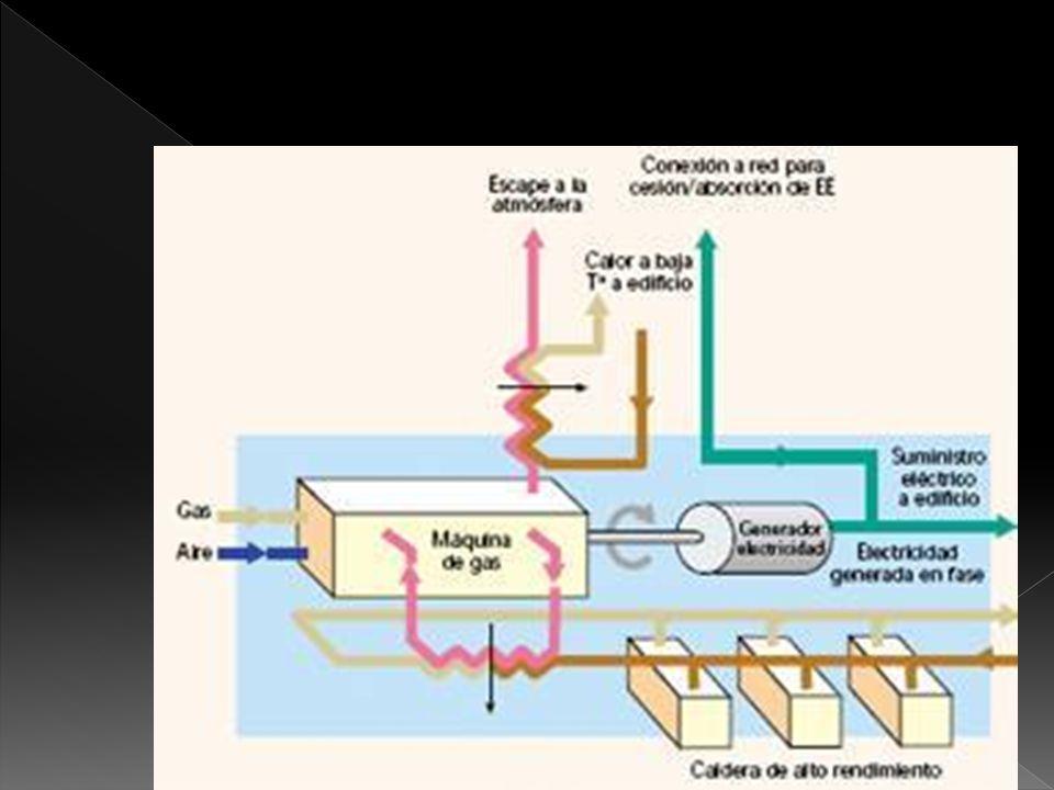 Cogeneración: Producción combinada de dos tipos de energía a partir de una única fuente energética