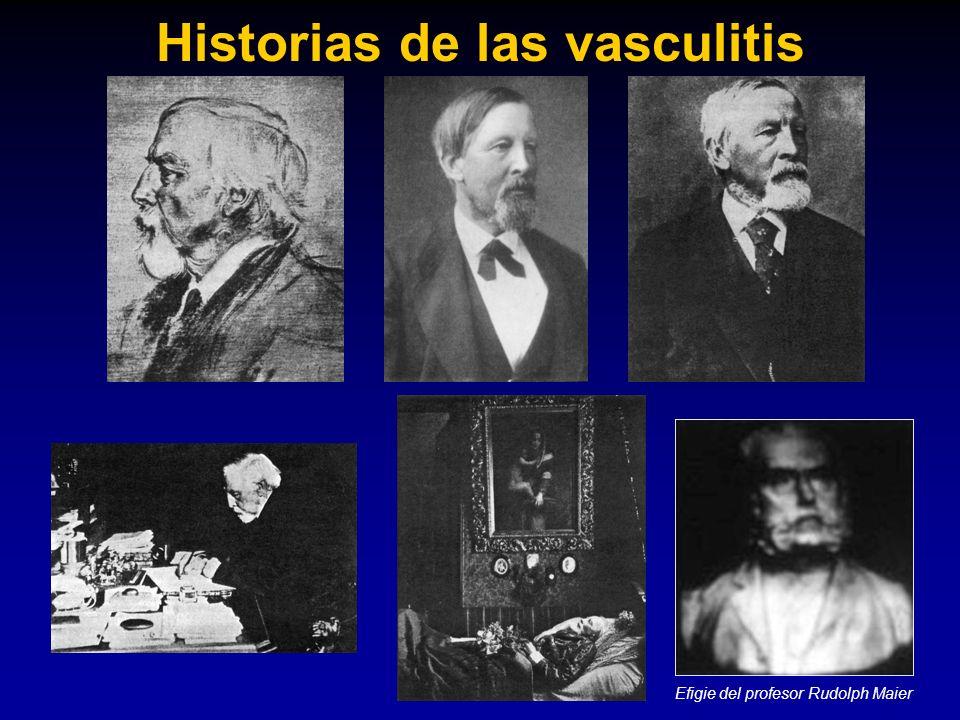 Historias de las vasculitis Efigie del profesor Rudolph Maier