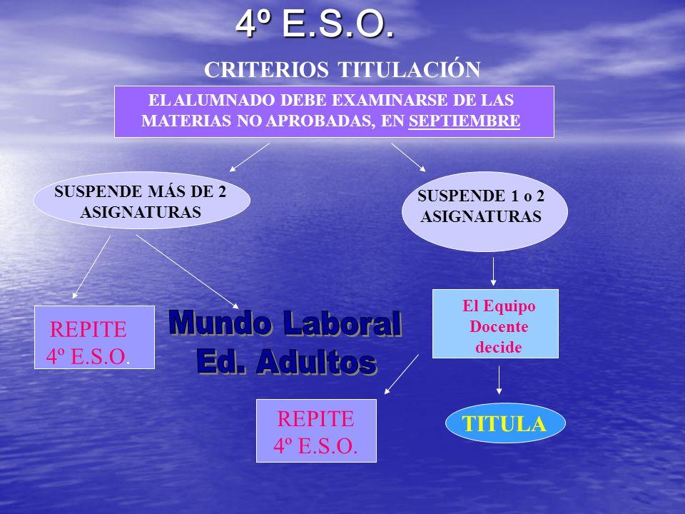 Ejemplos de Titulaciones Universitarias: Mod.