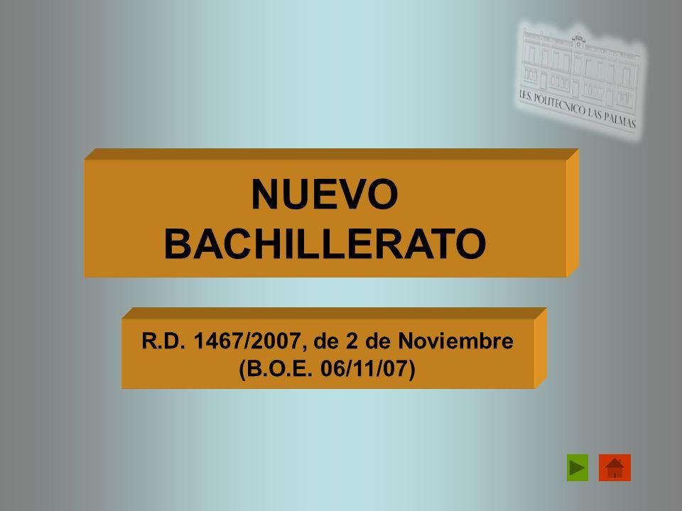 LA NUEVA SELECTIVIDAD R.D. 1892/2008, de 14 de Noviembre (B.O.E. 24/11/08)