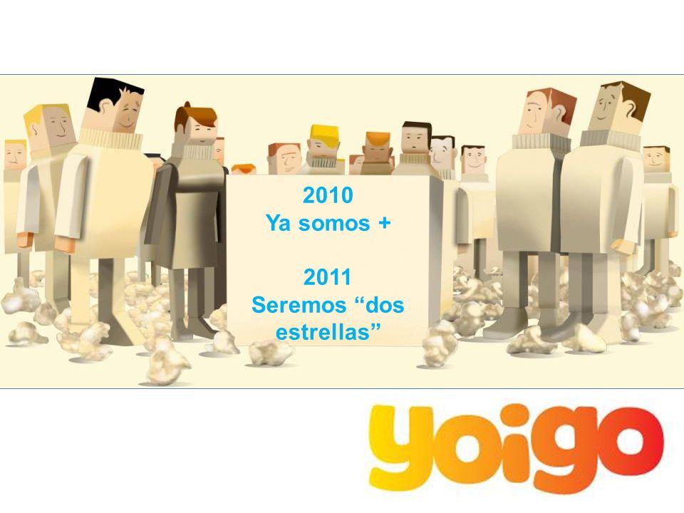 2010 Ya somos + 2011 Seremos dos estrellas