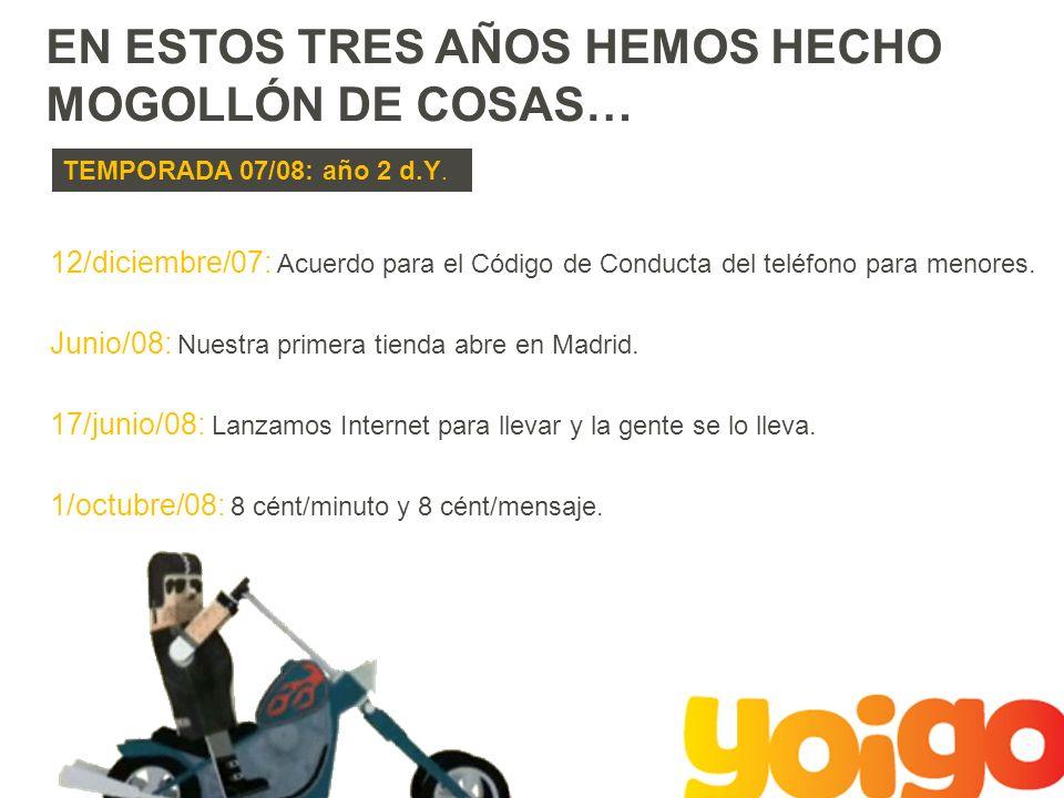 EN ESTOS TRES AÑOS HEMOS HECHO MOGOLLÓN DE COSAS… TEMPORADA 07/08: año 2 d.Y.