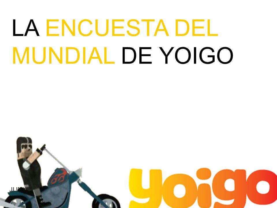 LA ENCUESTA DEL MUNDIAL DE YOIGO JUNIO 2010