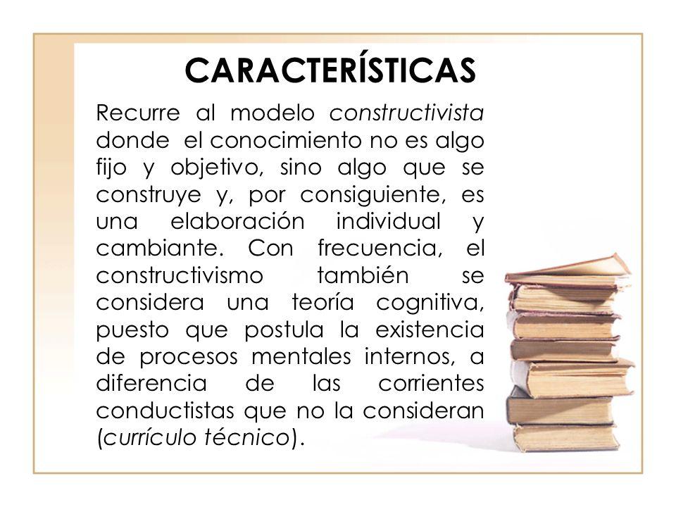 CARACTERÍSTICAS -Analiza el papel del Estado en la elaboración y constricción de la educación.