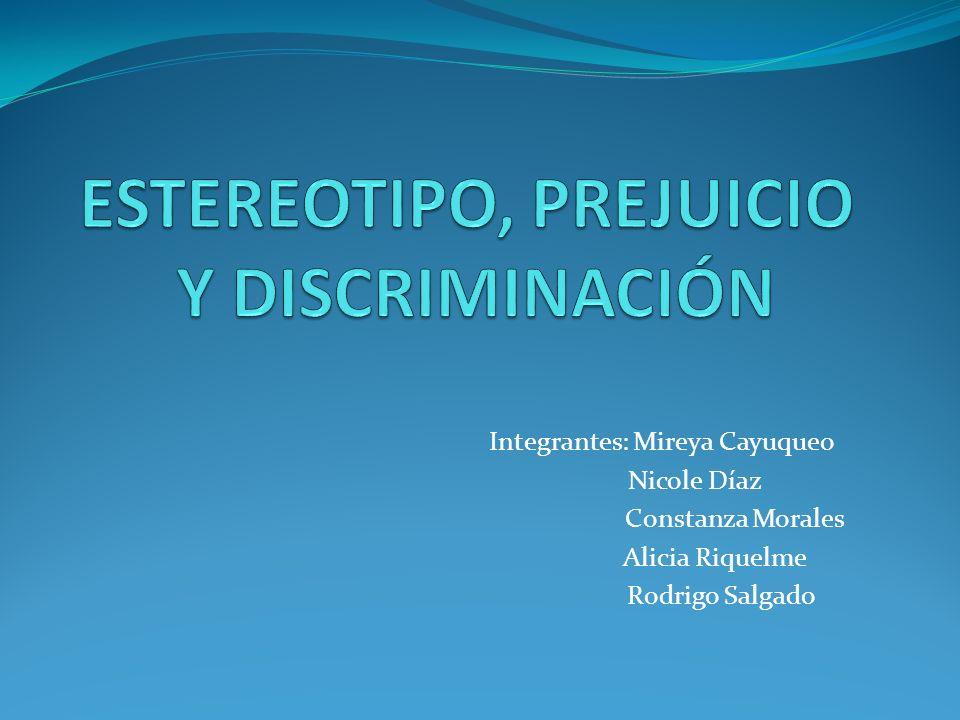 Integrantes: Mireya Cayuqueo Nicole Díaz Constanza Morales Alicia Riquelme Rodrigo Salgado