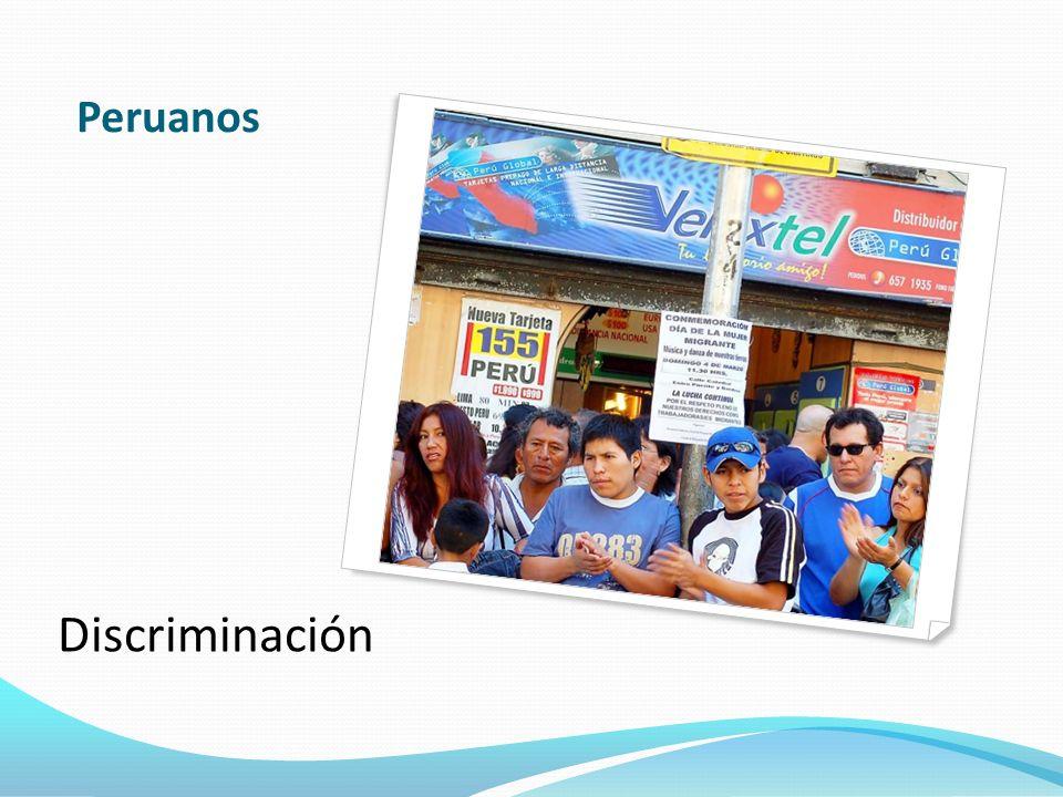 Peruanos Discriminación