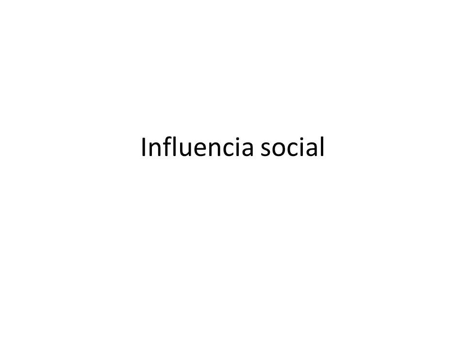 Procesos asociados Sugestión y contagio: Gustav Le Bon Facilitación social: Triplett, Allport, Zajonc.