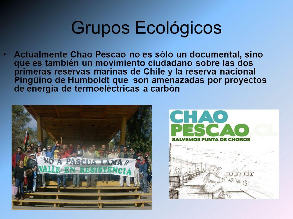 Actualmente Chao Pescao no es sólo un documental, sino que es también un movimiento ciudadano sobre las dos primeras reservas marinas de Chile y la re