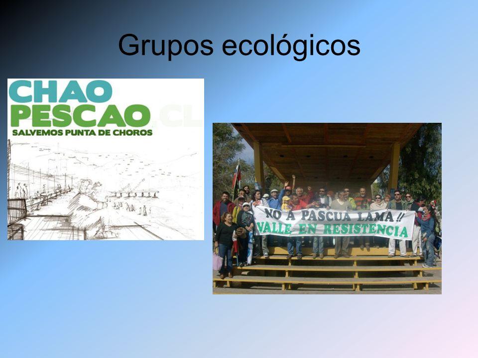 Grupos ecológicos