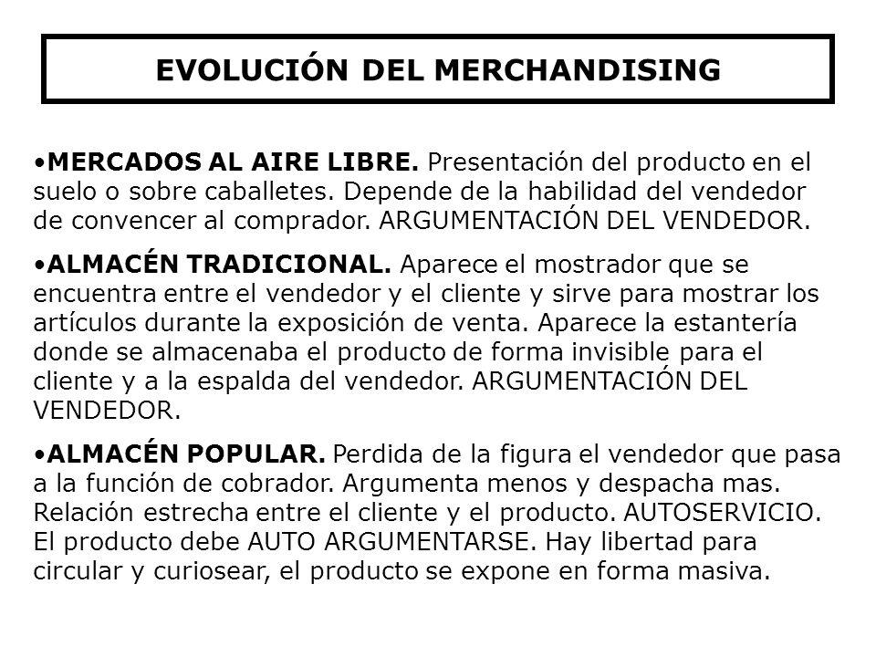 Conjunto de métodos y técnicas que contribuyen a la optimización del espacio de venta, dándole a los productos un activo papel de venta por su present