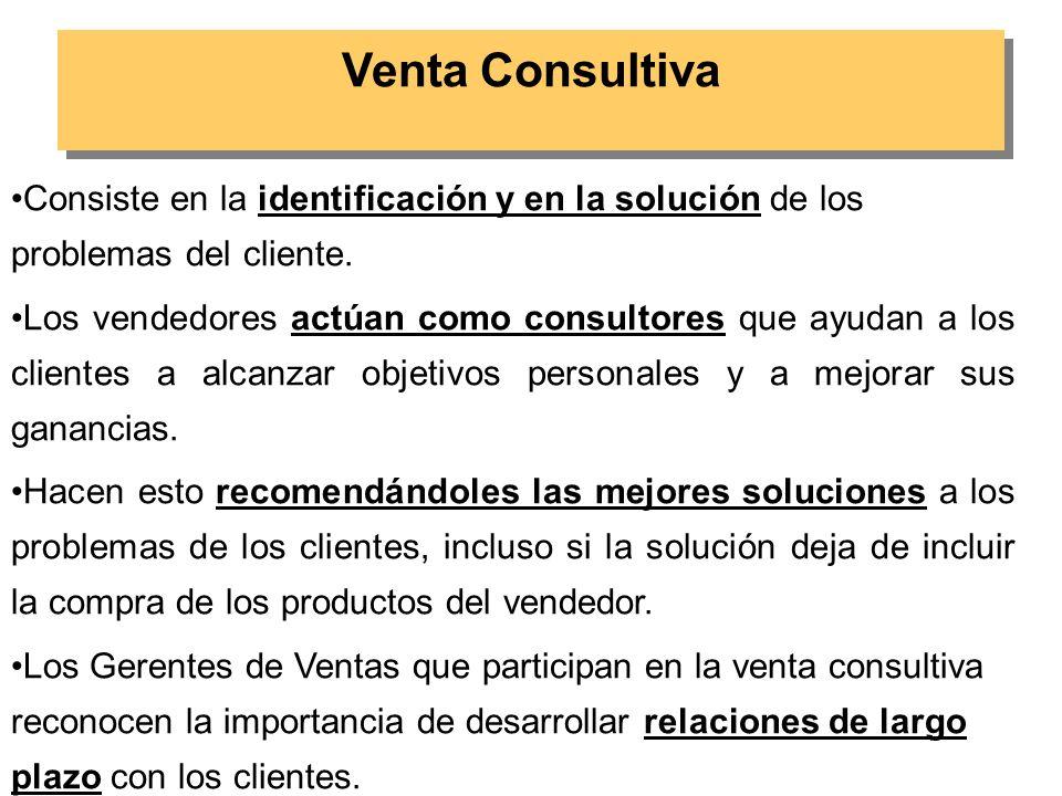 Los requerimientos para que este tipo de ventas sea exitosa son: REGLA 1:Los clientes deben contemplar a los representantes de ventas como expertos.