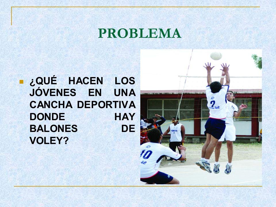 ACONTECIMIENTO Vivencia observada a un grupo de jóvenes, en un ambiente deportivo.