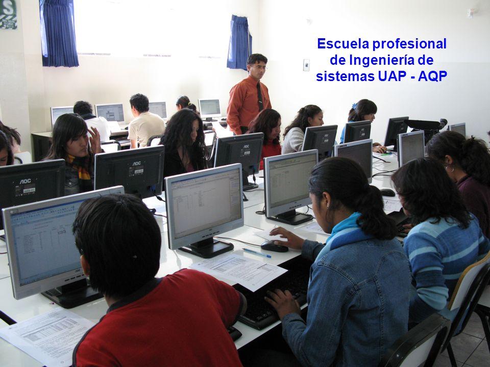 Escuela profesional de Ingeniería de sistemas UAP - AQP