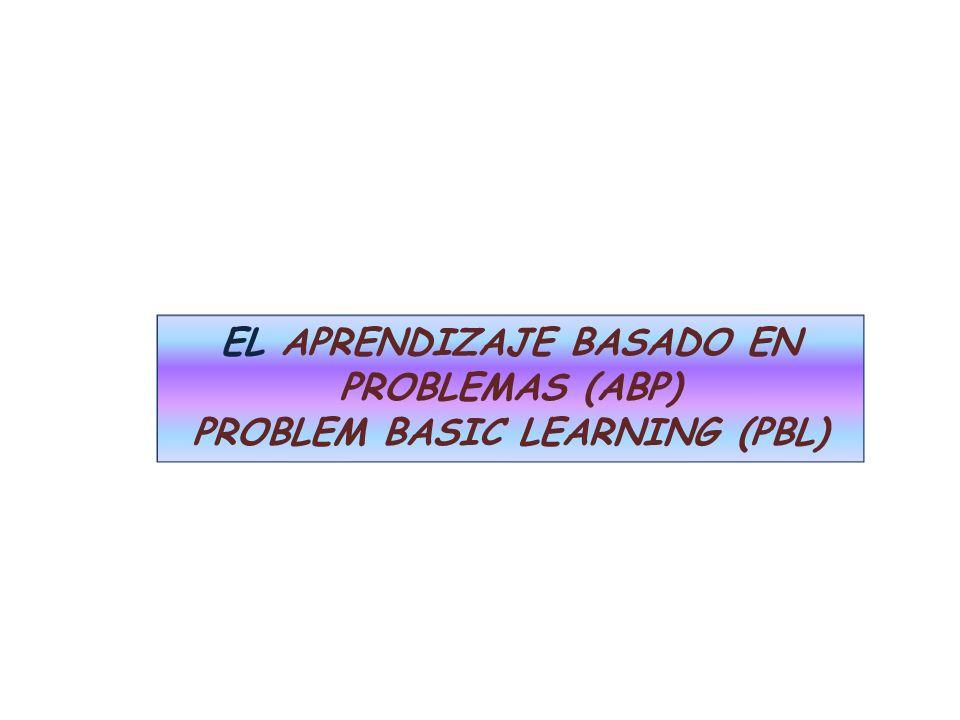 IMPORTANCIA DEL ABP El procesamiento de la información en los niveles superiores, tal como se da en la resolución de situaciones problemáticas, el pensamiento critico.