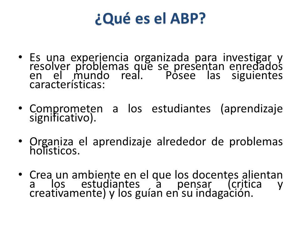 ¿Qué es el ABP.