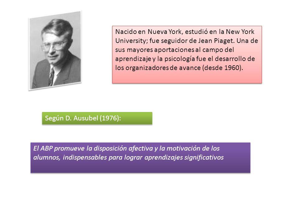 Nacido en Nueva York, estudió en la New York University; fue seguidor de Jean Piaget.