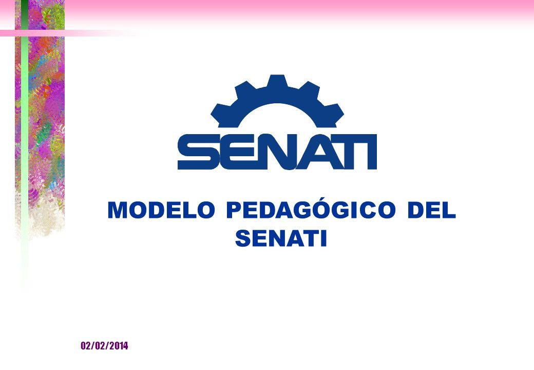 MODELO PEDAGÓGICO DEL SENATI 02/02/2014