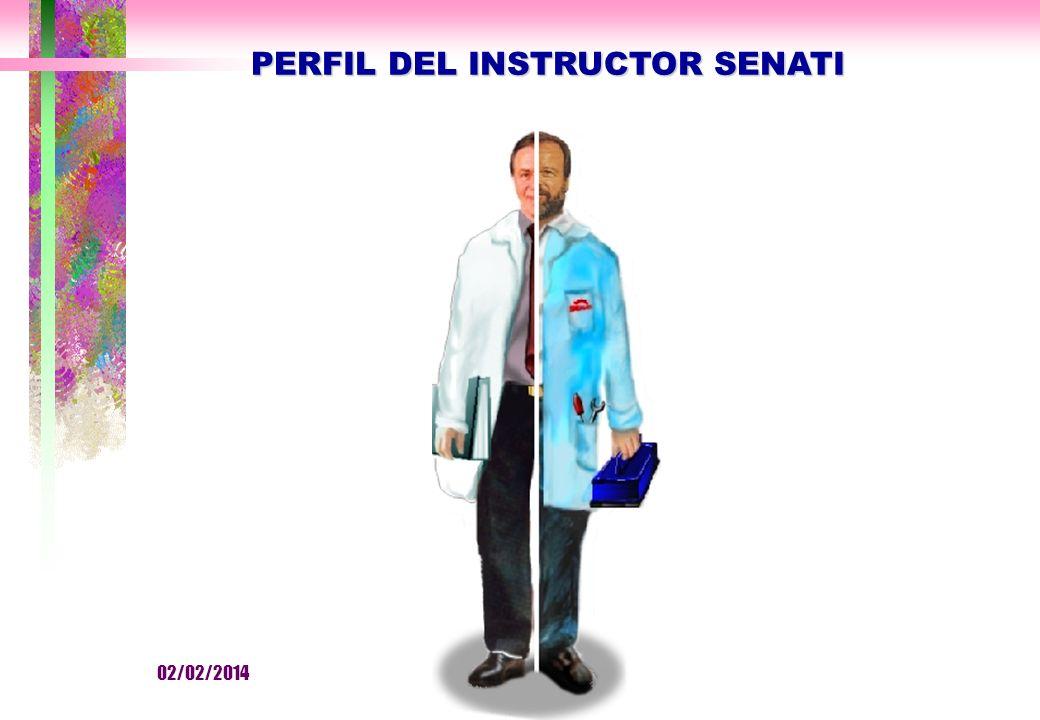 PERFIL DEL INSTRUCTOR SENATI 02/02/2014