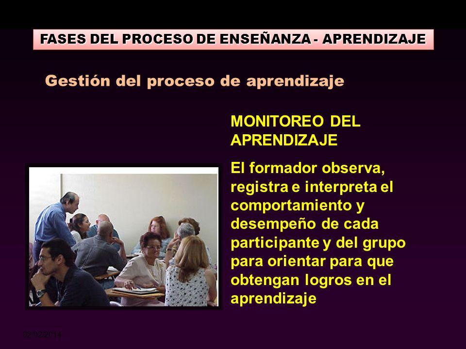 02/02/2014 FASES DEL PROCESO DE ENSEÑANZA - APRENDIZAJE FASE DE ASIMILACIÓN Establecer relación entre los conocimientos adquiridos y la realidad. La e