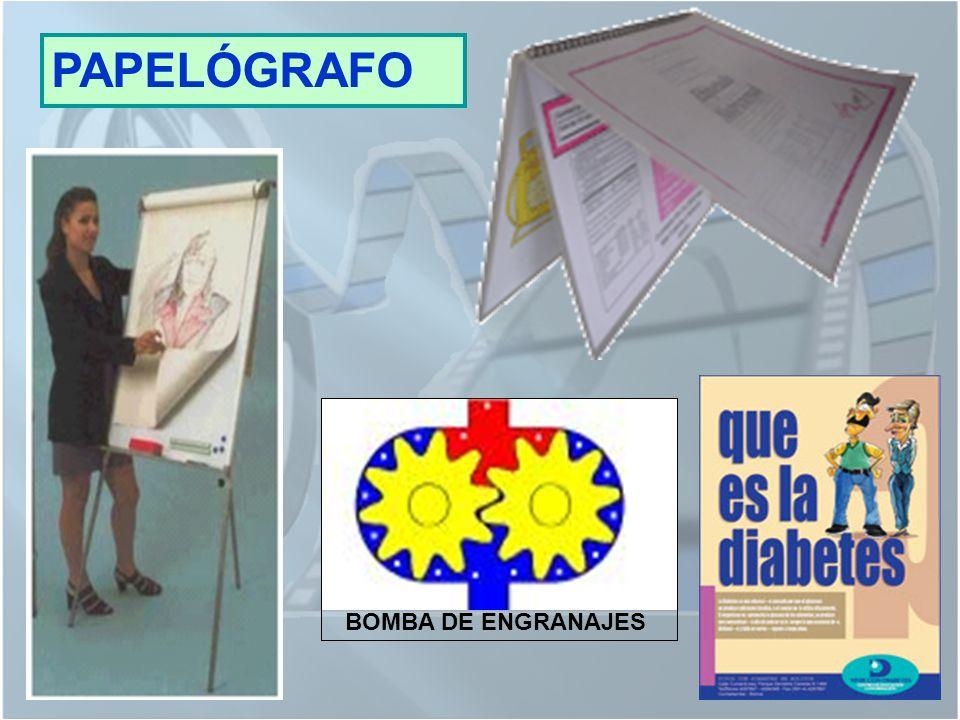 PAPELÓGRAFO BOMBA DE ENGRANAJES