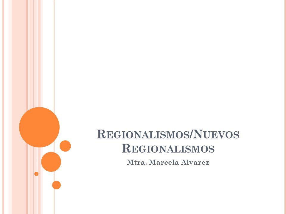 A simple vista se puede observar que ha habido un crecimiento significativo tanto en el número de instituciones regionales como en el rango de sus actividades en el último medio siglo.