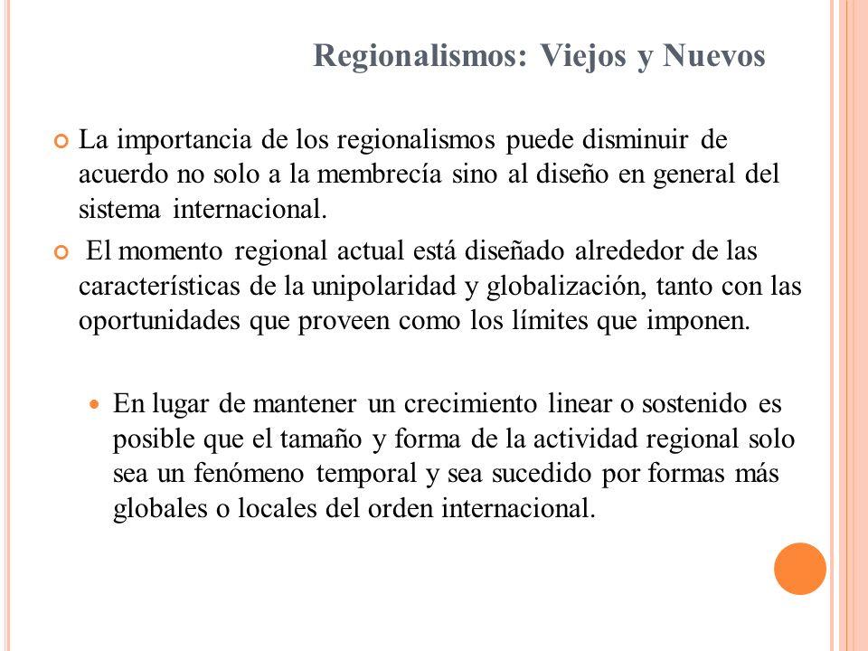 Intentos de diferentes académicos para definir regiones y regionalismo: Tema cada vez más complejo ya que el alcance de ambos términos ha sido continuamente debatido y sujeto a diferentes interpretaciones.