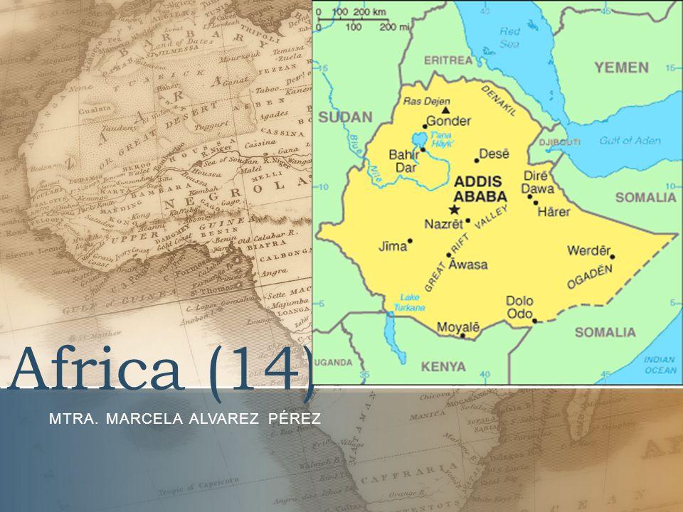 Africa (14) MTRA. MARCELA ALVAREZ PÉREZ