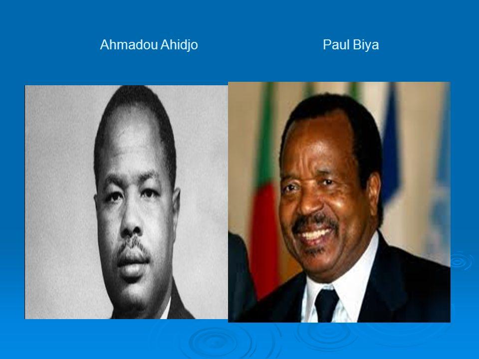 Ahmadou Ahidjo Paul Biya