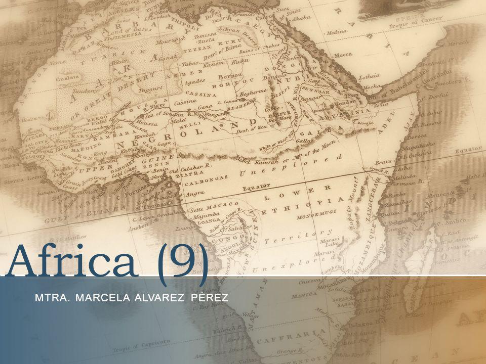 Africa (9) MTRA. MARCELA ALVAREZ PÉREZ