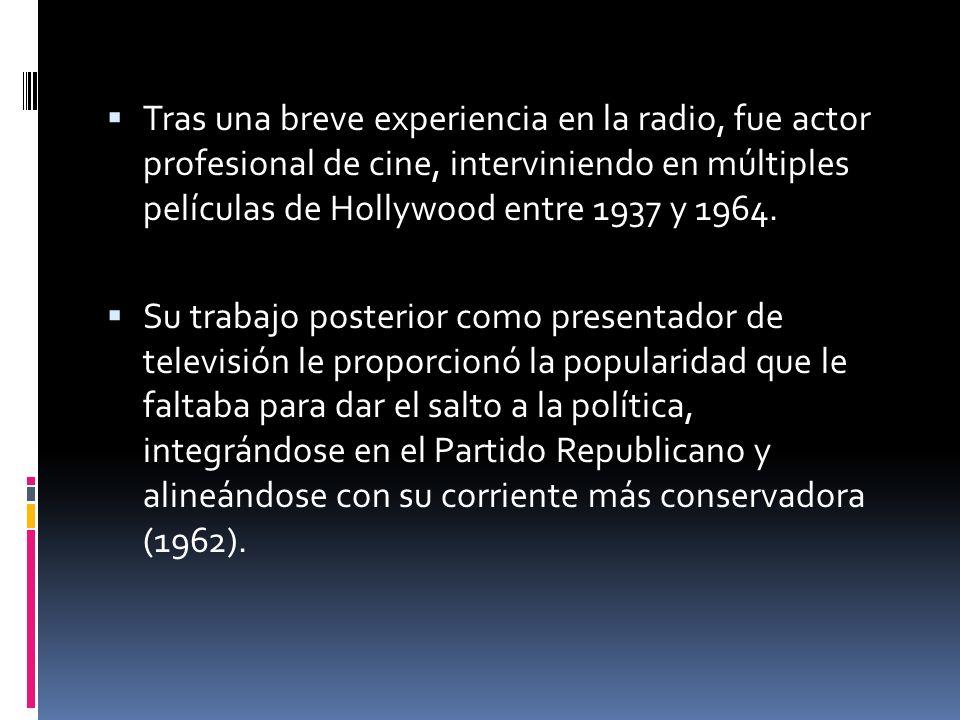 Tras una breve experiencia en la radio, fue actor profesional de cine, interviniendo en múltiples películas de Hollywood entre 1937 y 1964. Su trabajo