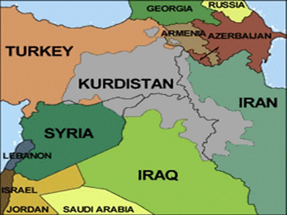 Se permite la lengua del pueblo Kurdo sin embargo se niega a reconocer su autonomía Los partidos más importantes son: PDKI perteneciente a la Internacional Socialista