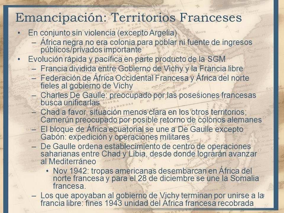 Declaración del rey Balduino: independencia tras varias etapas –1959: elecciones –1960: reunión de un parlamento –Nombramiento de africanos para administración –Etc.