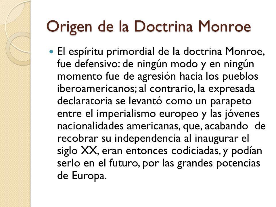 """La presentaci�n """"Doctrina Monroe e Imperialismo. Am�rica para los ..."""