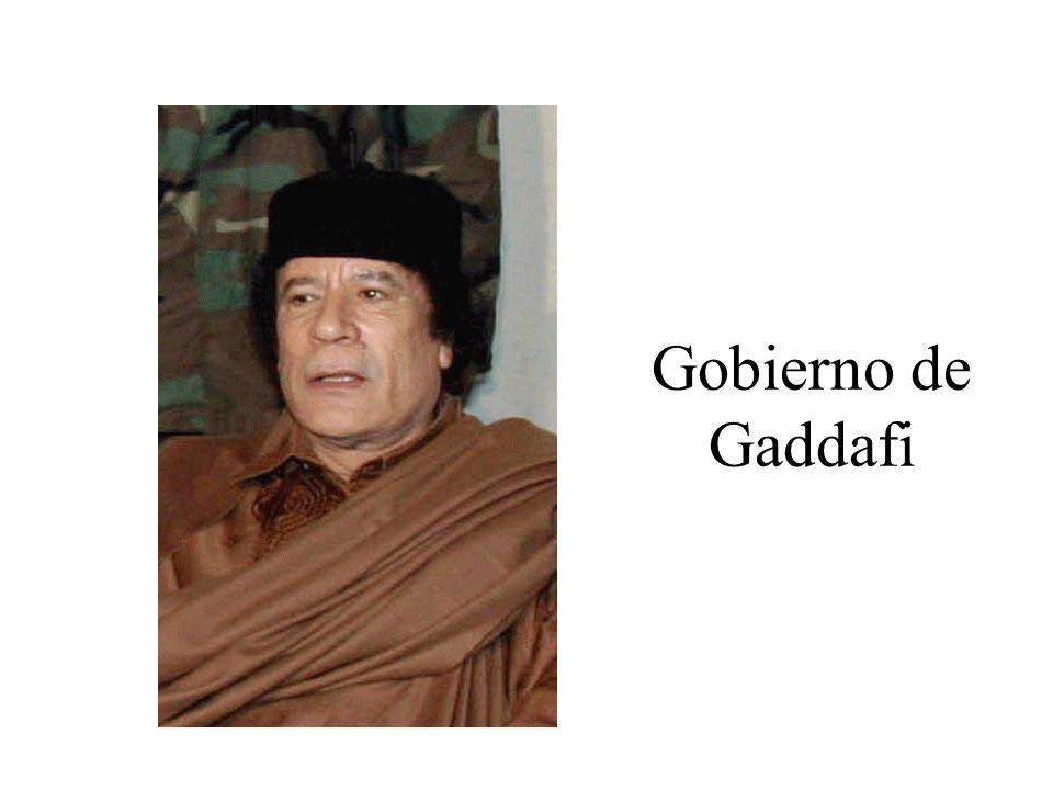 El 1 de septiembre de 1969 el ala izquierdista del ejército da un golpe de estado y derroca la monarquía.