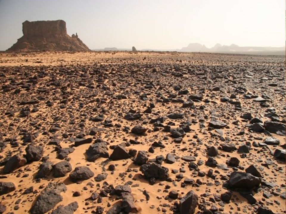3 Sahara – Desierto desde el O. Atlántico hasta el Mar Rojo – El Nilo: único río importante – wadis