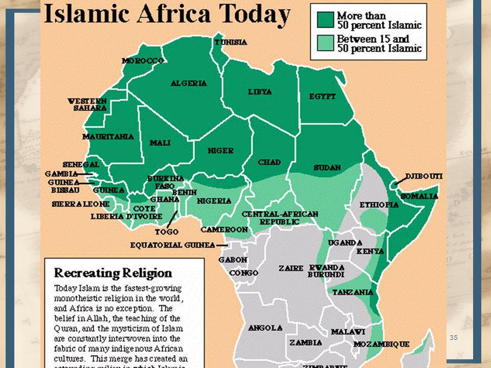 Reino de Mali – Puramente negro desde el inicio – Región rica en minas de oro Principios S.XI: Keita se convierte al Islam 1240: Sundiata destruye la cd.